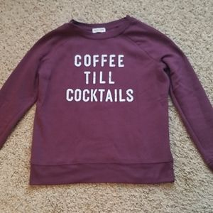 Grayson Threads Coffee till Cocktails Sweatshirt